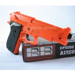 Beretta Spring Action Orange Airsoft BB gun